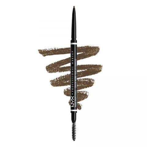NYX PROFESSIONAL MAKEUP Micro Brow Pencil, Eyebrow Pencil - Ash Brown
