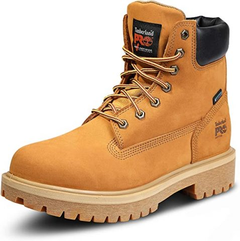 Timberland PRO Men's Direct Attach 6 Inch Soft Toe Insulated Waterproof Work Boot