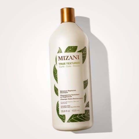 MIZANI True Textures Moisture Replenish Shampoo | Smooths & Hydrates | with Coconut Oil